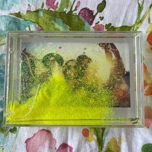 NWOT Lime Green photo frame